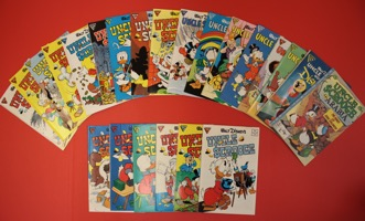 Walt Disney's Uncle Scrooge    Lot Of 23 Books - Primary