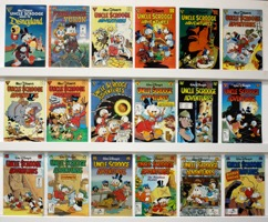 Walt Disney's Uncle Scrooge Adventures  Lot Of 18 Books - Primary
