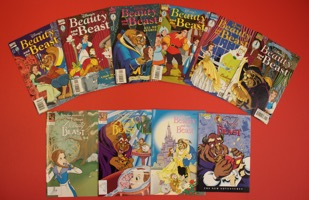 Walt Disney's Beauty And The Beast Lot Of 10 Books  - Primary