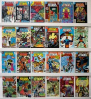 Tales Of The Teen Titans   Lot Of 28 Comics - Primary