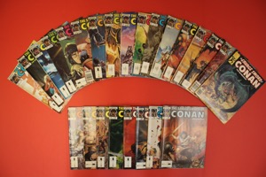 The Savage Sword Of Conan   Lot Of 50 Books - Primary