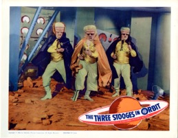 Three Stooges In Orbit    1962   Nm - Primary