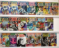 Moon Knight          Lot Of 20 Books - Primary