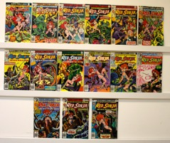 Red Sonja        Lot Of 15 Books - Primary