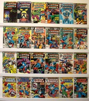 Captain America        Lot Of 54 Books - Primary