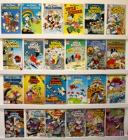 Walt Disney's Uncle Scrooge Adventures Lot Of 24 Books - Primary