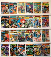 Brave And The Bold        Lot Of 24 Comics - Primary