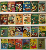 Walt Disney's Donald Duck & Uncle Scrooge    Lot Of 24 Books - Primary