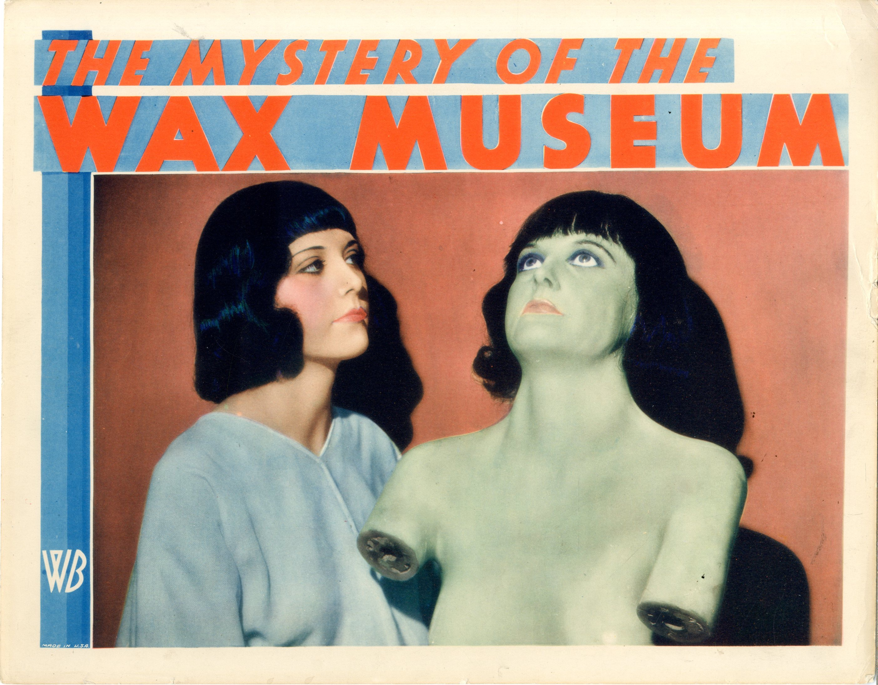 Mystery Of The Wax Museum 1933 - Primary