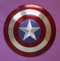 Captain America Silver Age Shield - Primary