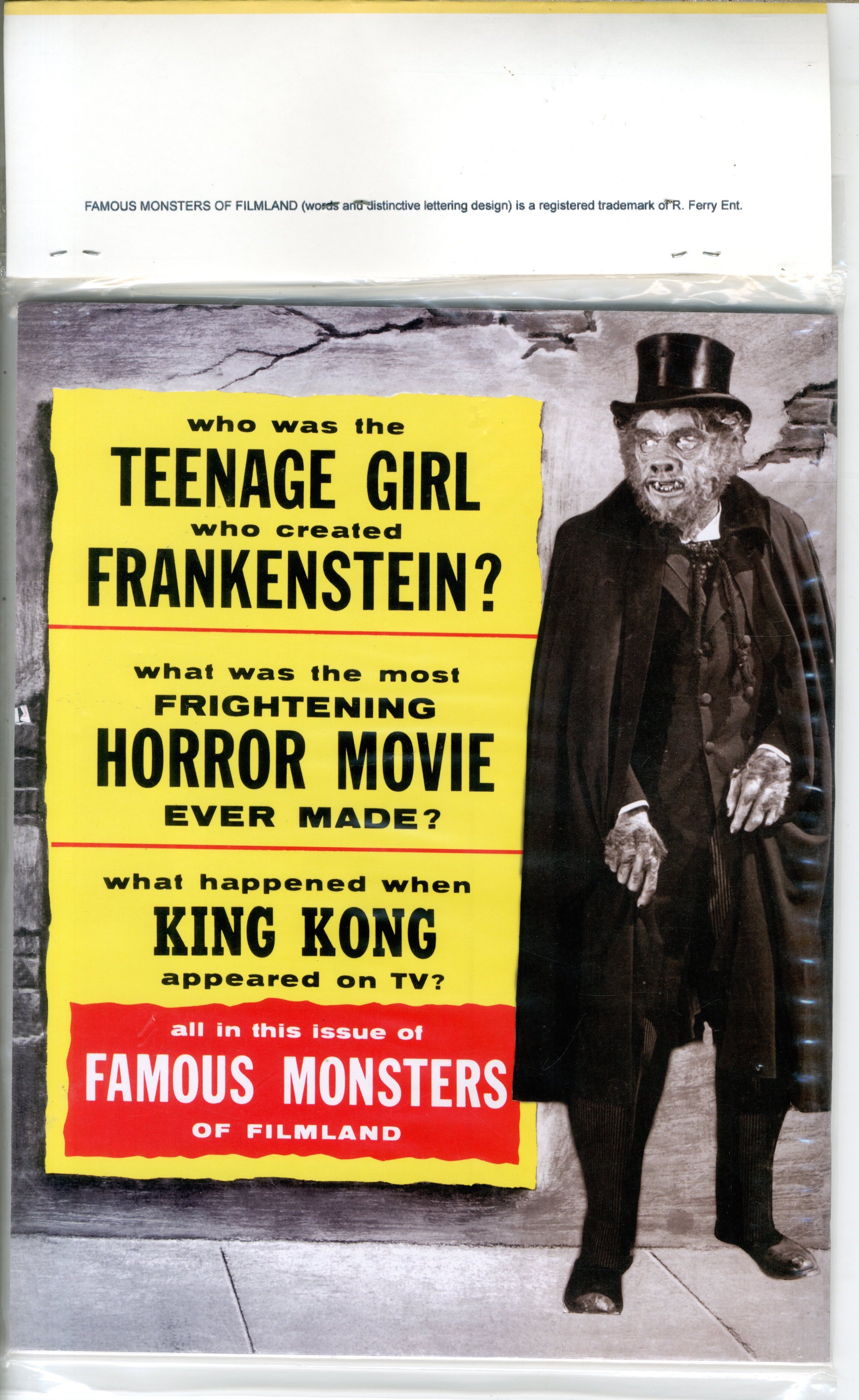 Famous Monsters Of Filmland - 17843
