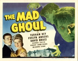 The Mad Ghoul    1943   Vf - Primary