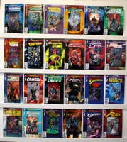 New 52 Futures End Dc Hologram Covers   Lot Of 28 Books - Primary