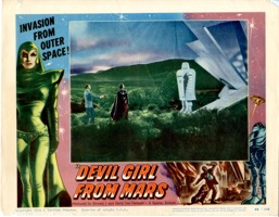 Devil Girl From Mars  Lobby Card #4 - Primary
