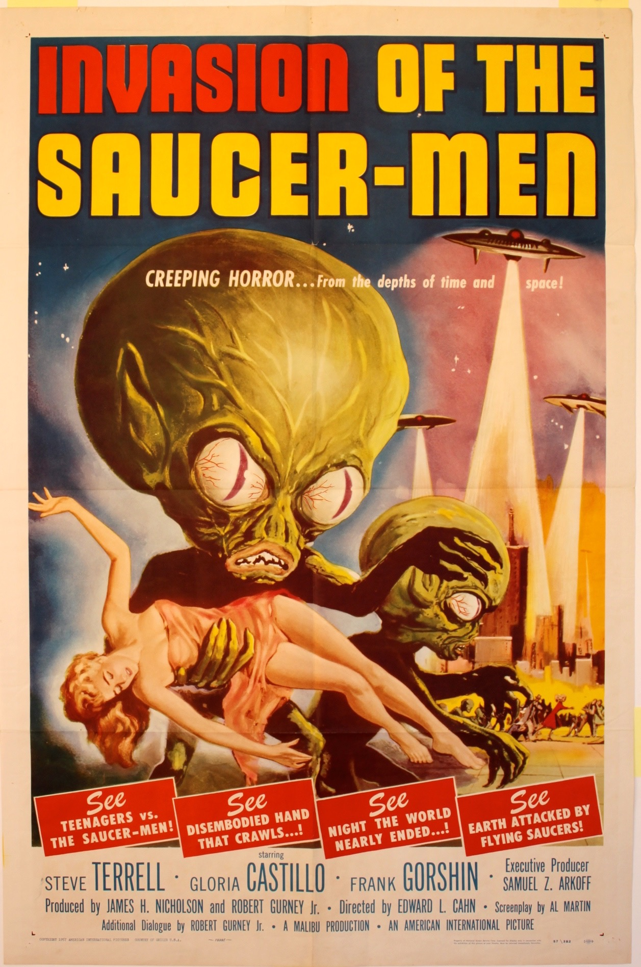 Invasion Of The Saucer-men 1957 - Primary