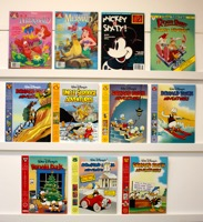 Disney      Lot Of 11 Books Magazine Size - Primary