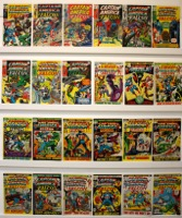 Captain America     Lot Of 24 Books - Primary