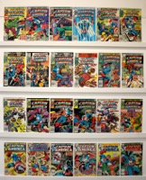 Captain America     Lot Of 48 Books - Primary