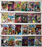 Marvel Fanfare.      Lot Of 46  - Primary