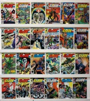 G.i. Joe A Real American Hero  Lot Of 96 Books - Primary