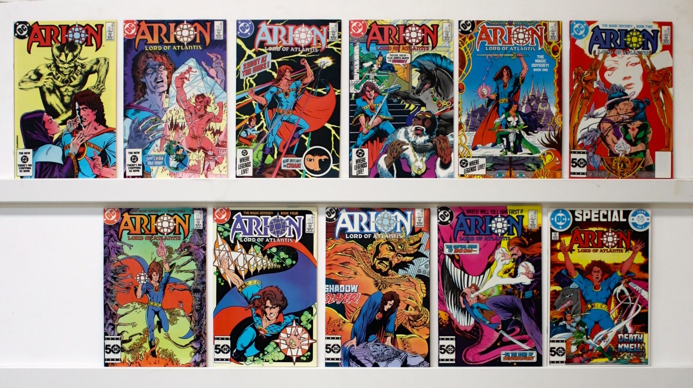 Arion    Lot Of 35 Comics - 21127