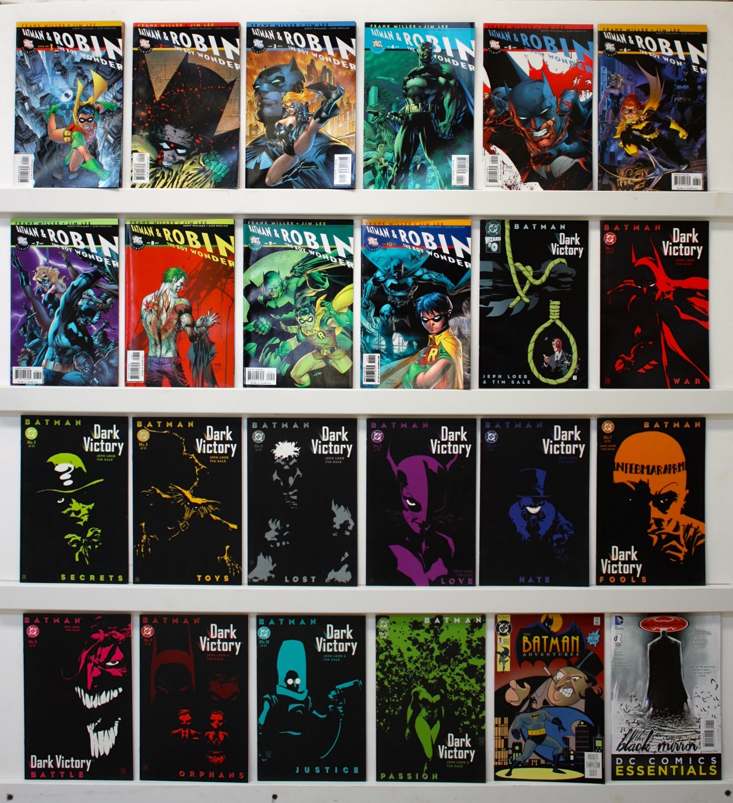 Batman & Robin The Boy Wonder   Lot Of 24 Comics - Primary