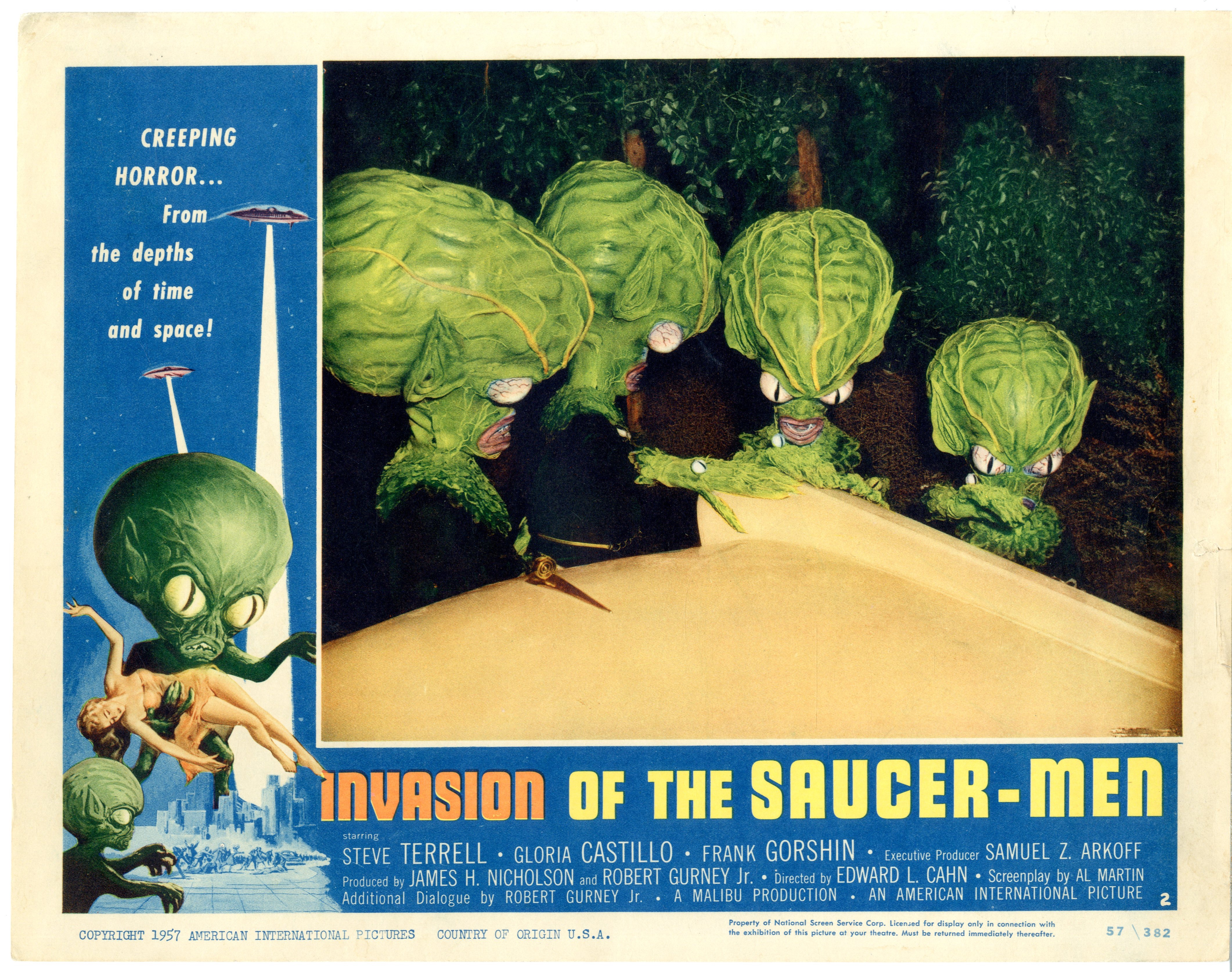 Invasion Of The Saucer-men 1957 - 22004