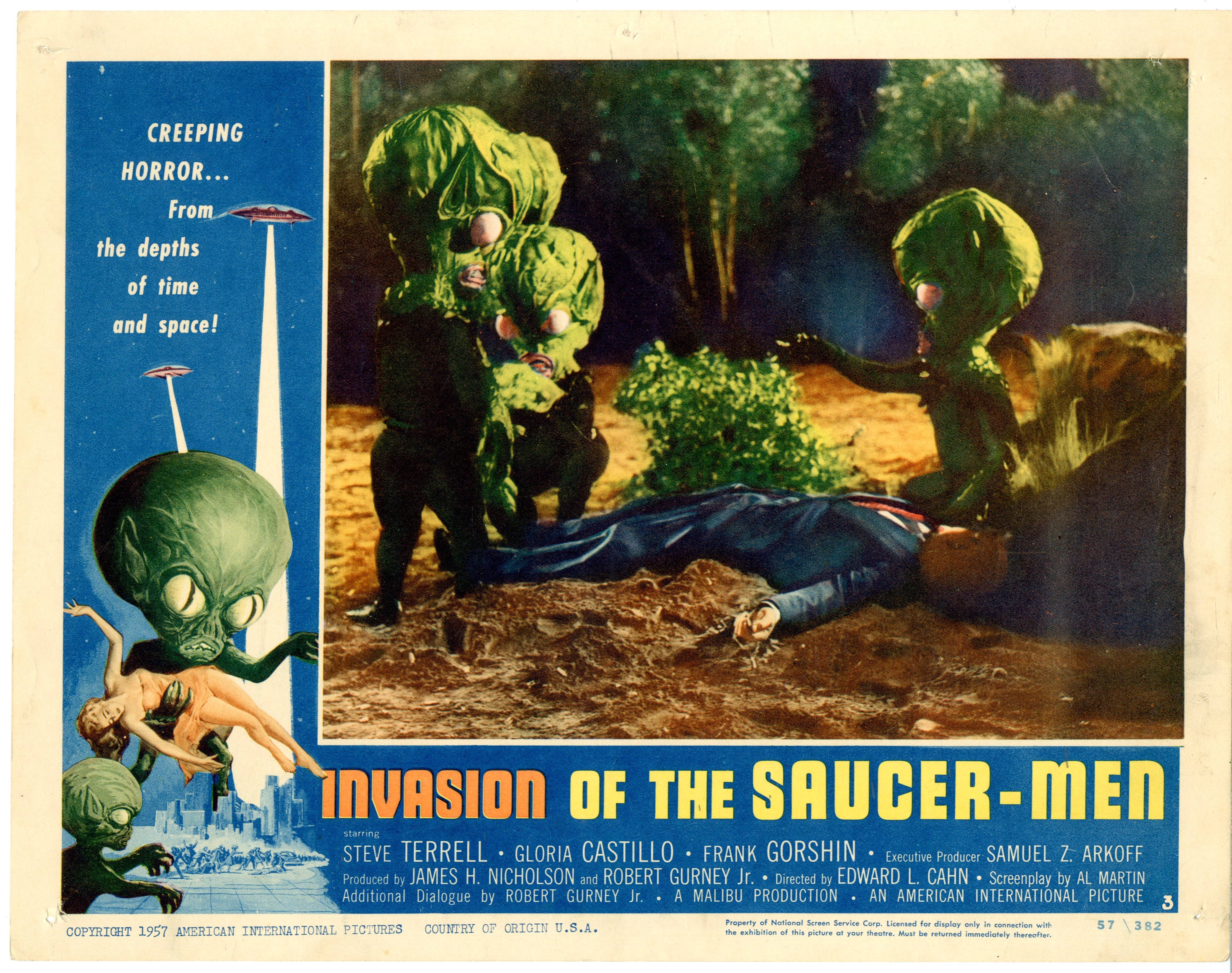 Invasion Of The Saucer-men 1957 - 22005