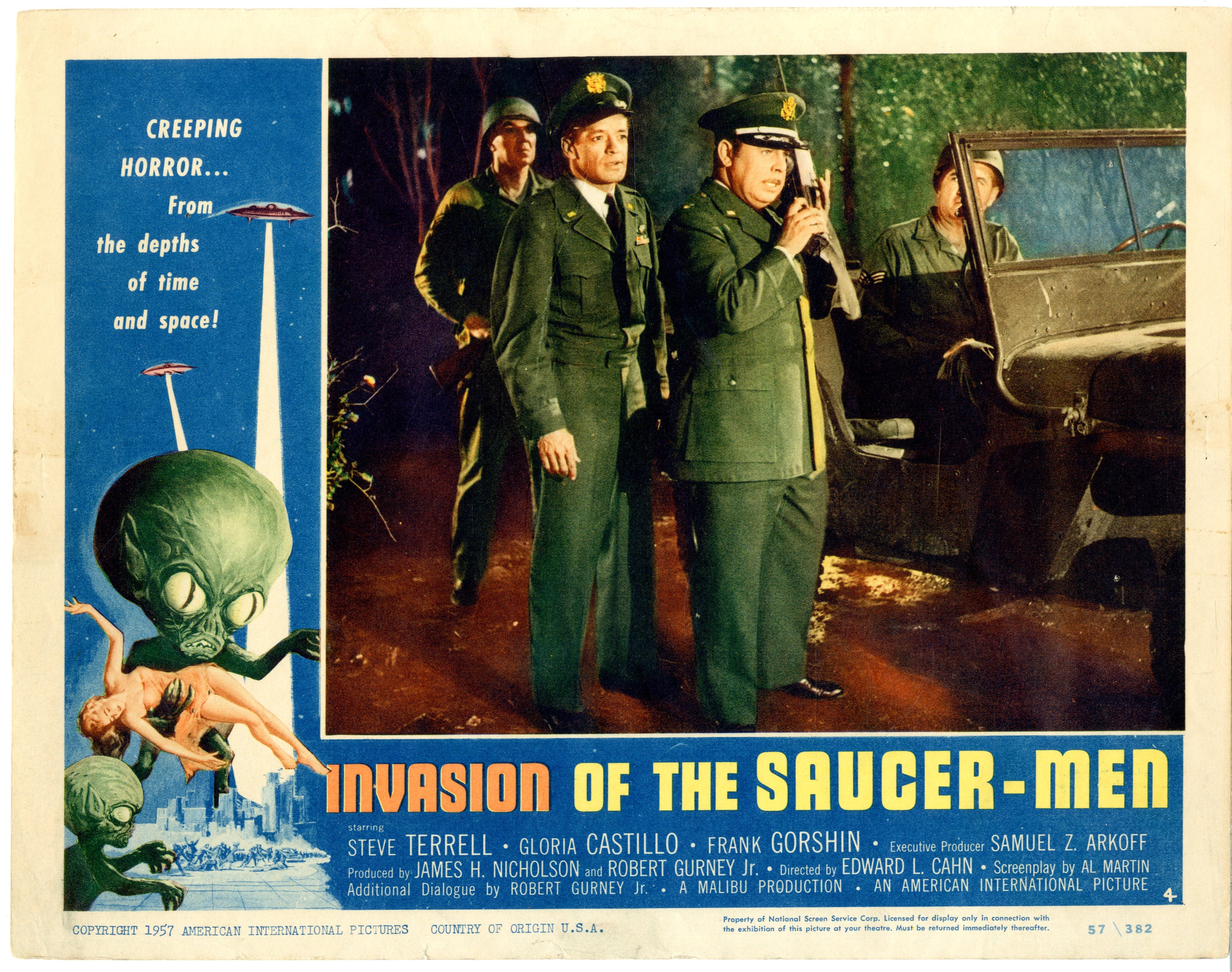 Invasion Of The Saucer-men 1957 - 22006