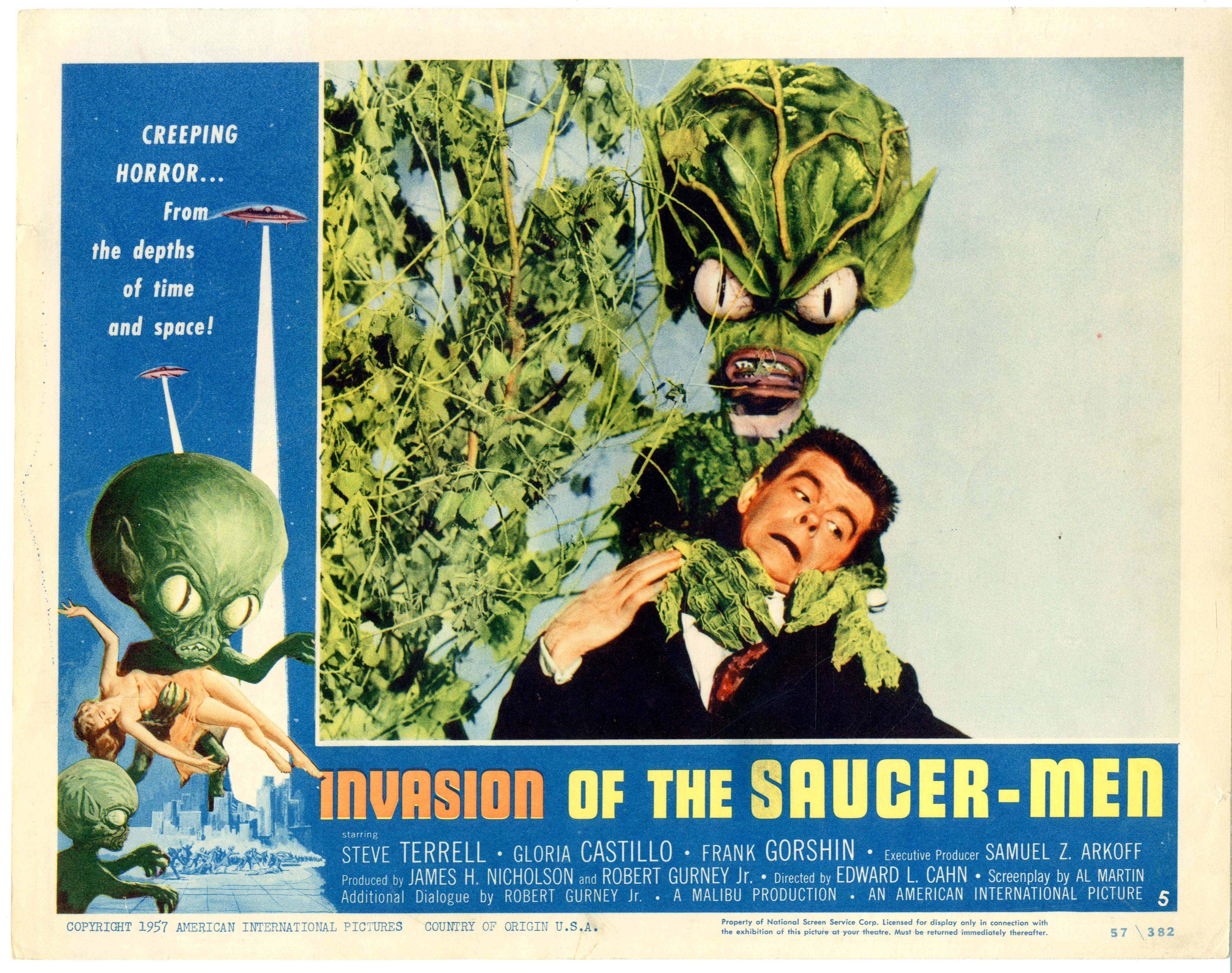 Invasion Of The Saucer-men 1957 - 22007