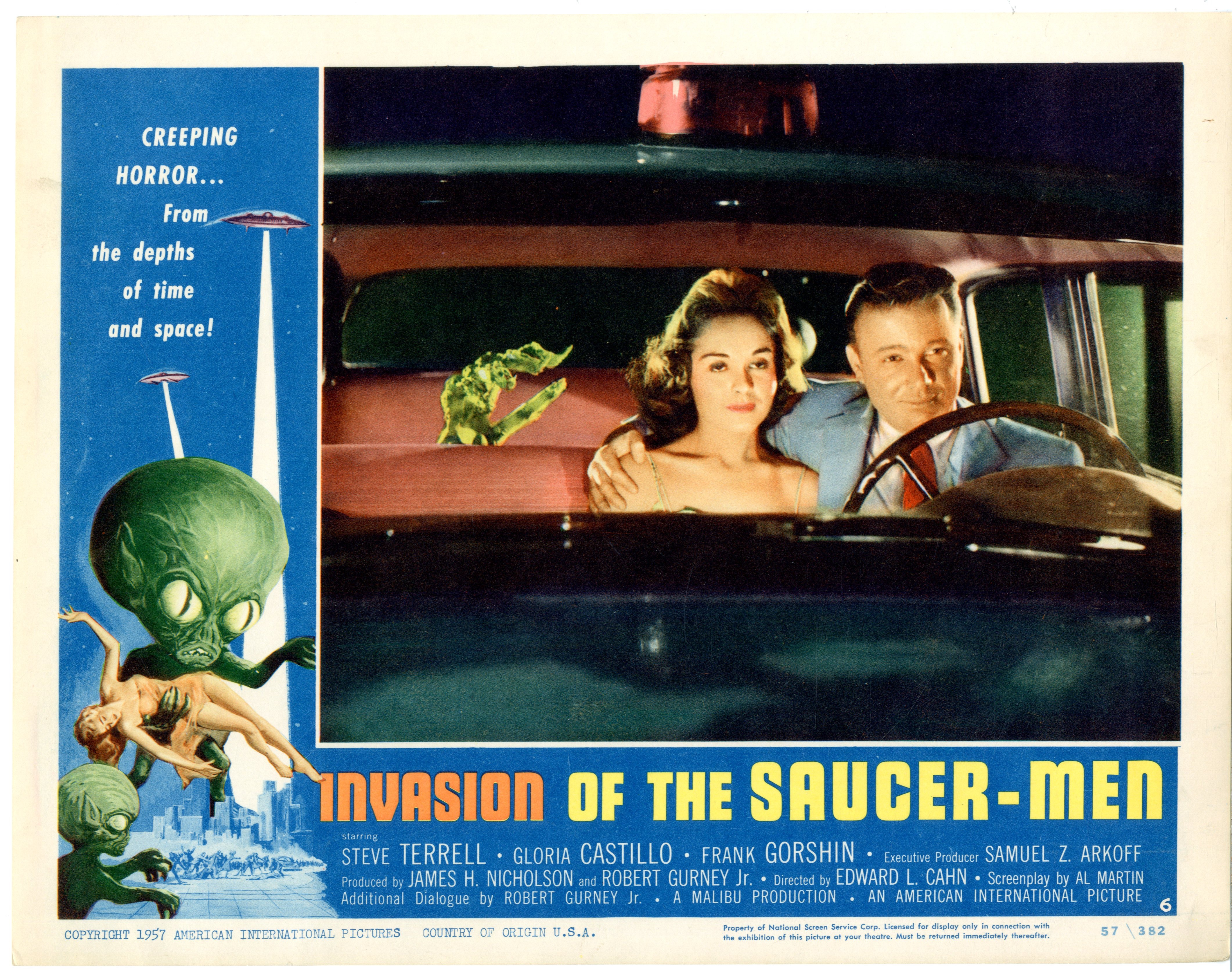 Invasion Of The Saucer-men 1957 - 22008