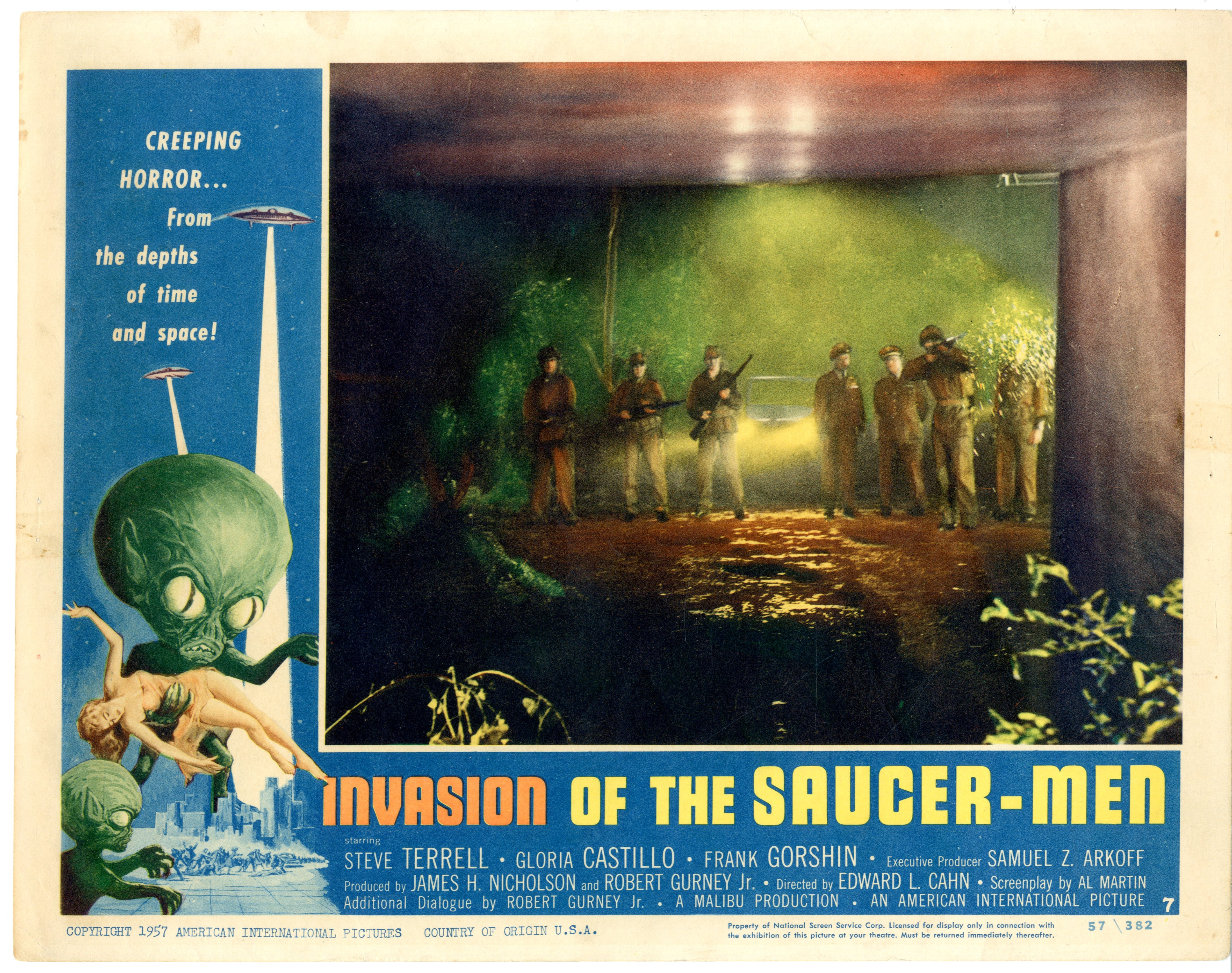 Invasion Of The Saucer-men 1957 - 22009