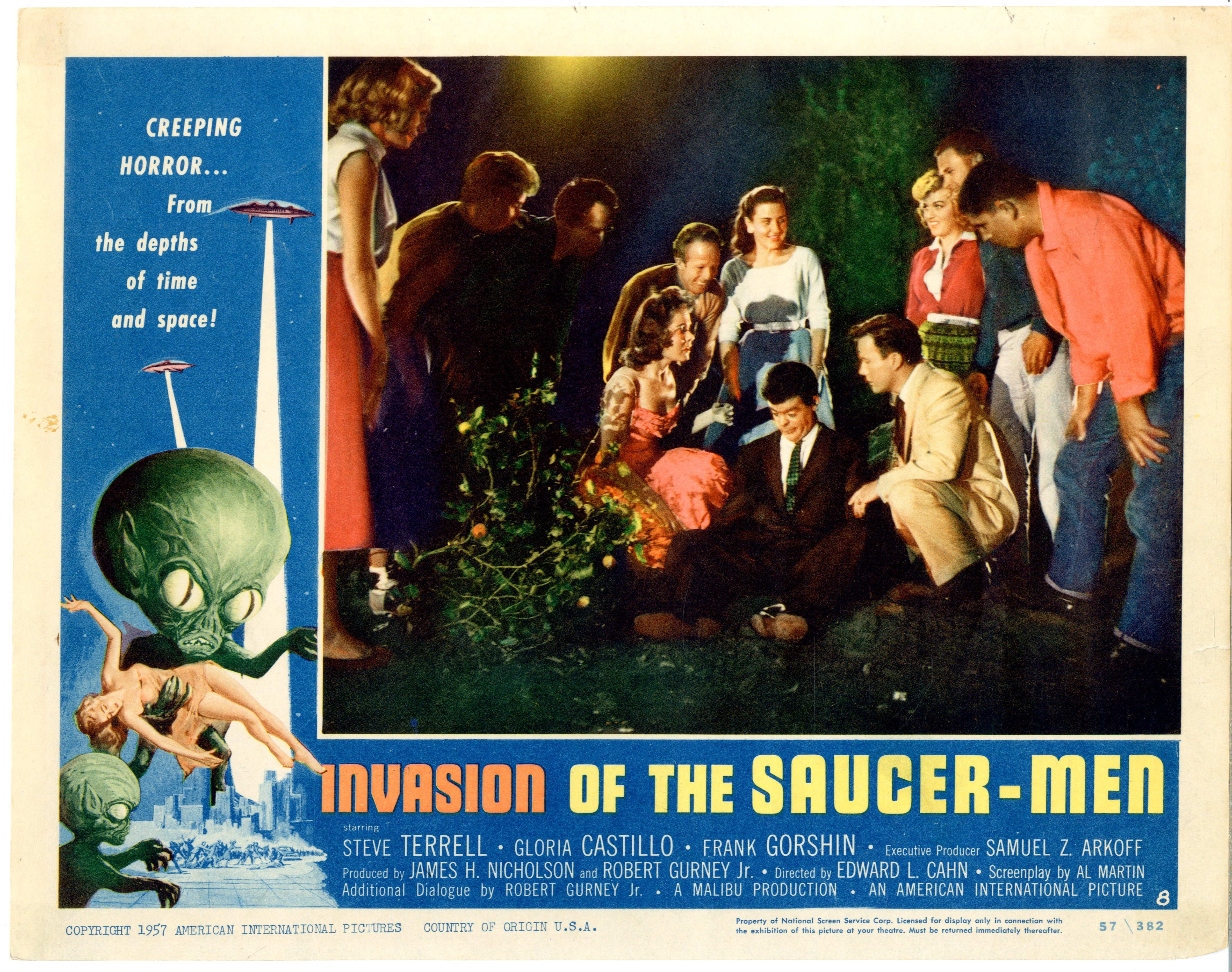Invasion Of The Saucer-men 1957 - 22010