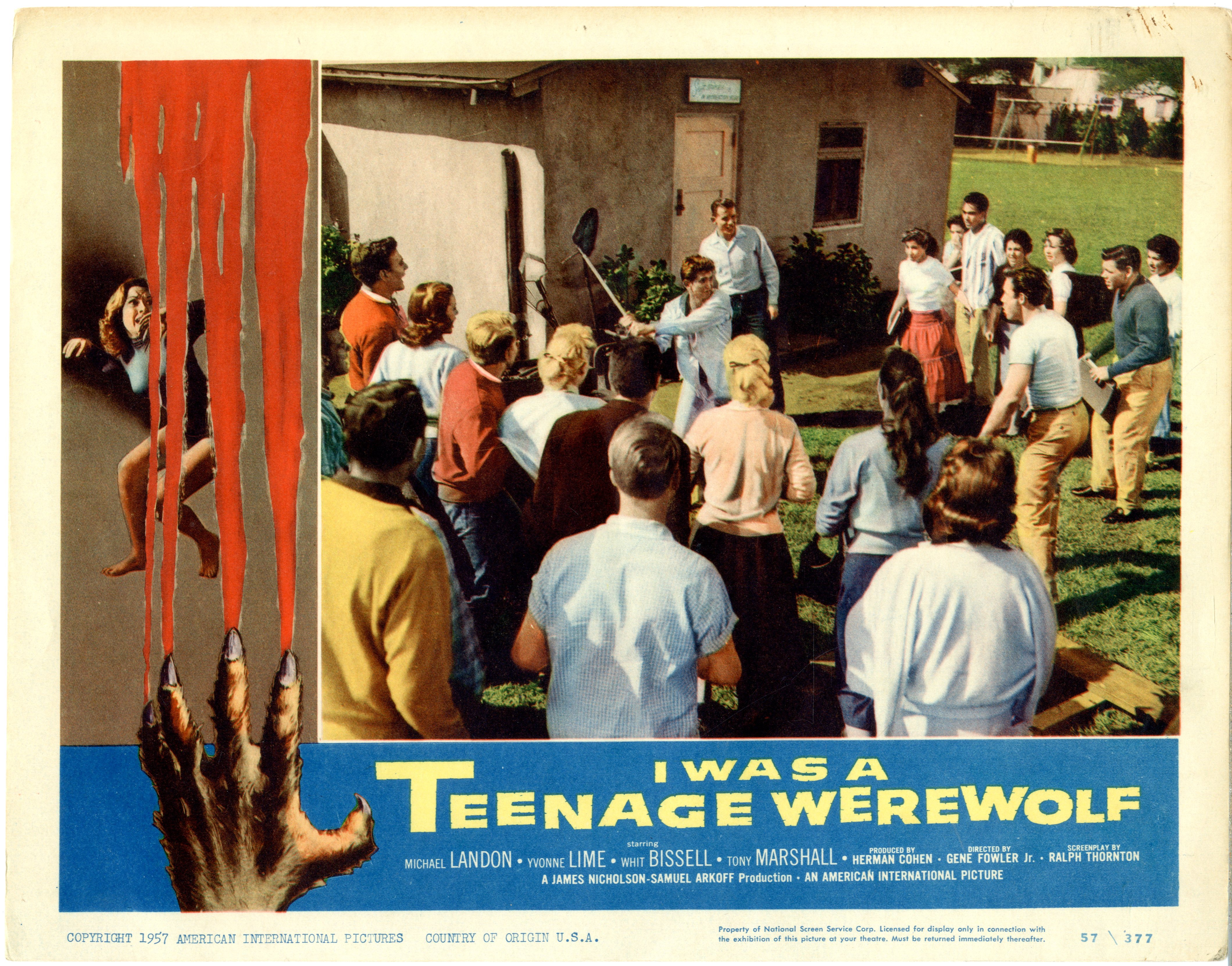 I Was A Teenage Werewolf   1957 - 22046
