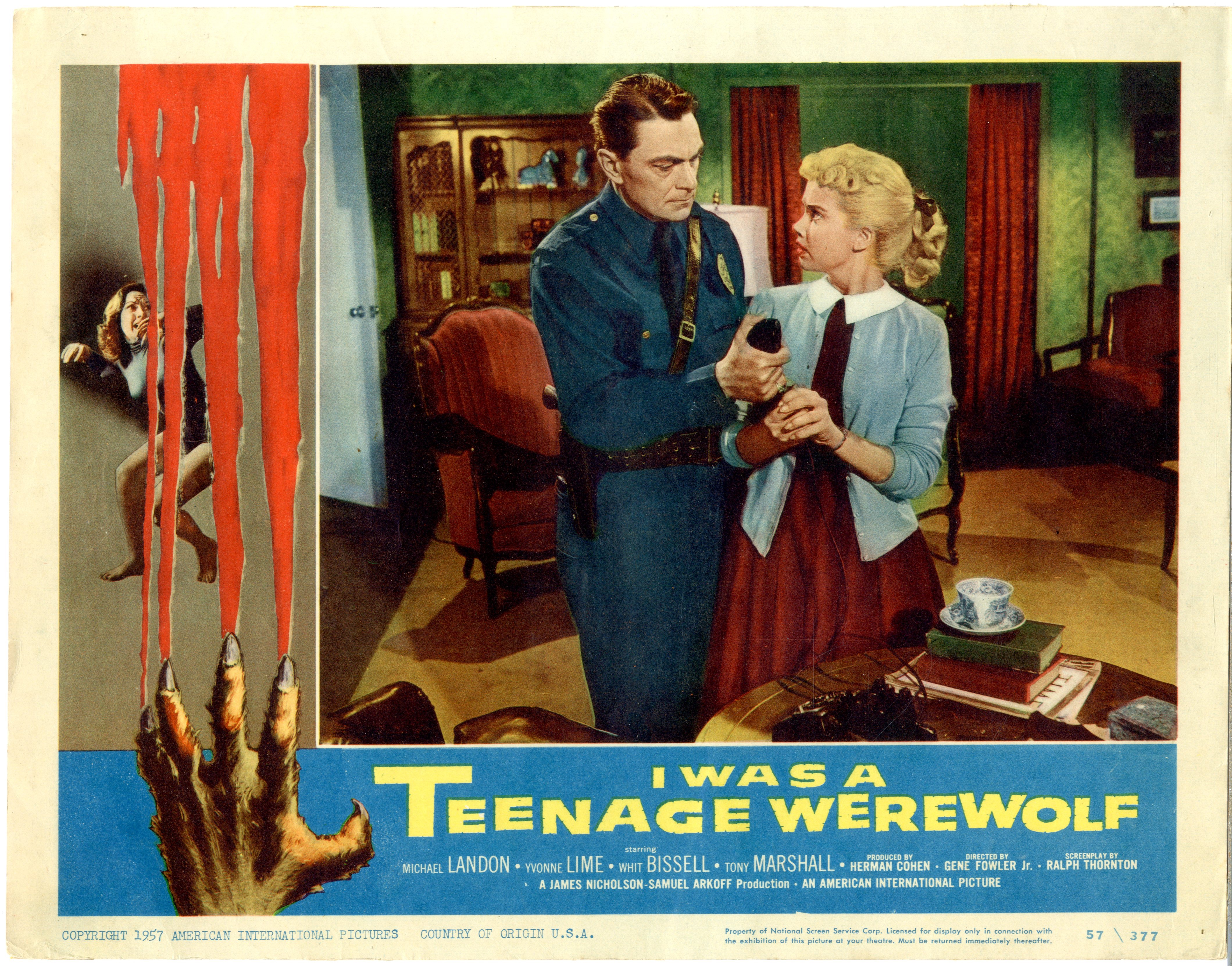 I Was A Teenage Werewolf   1957 - 22047