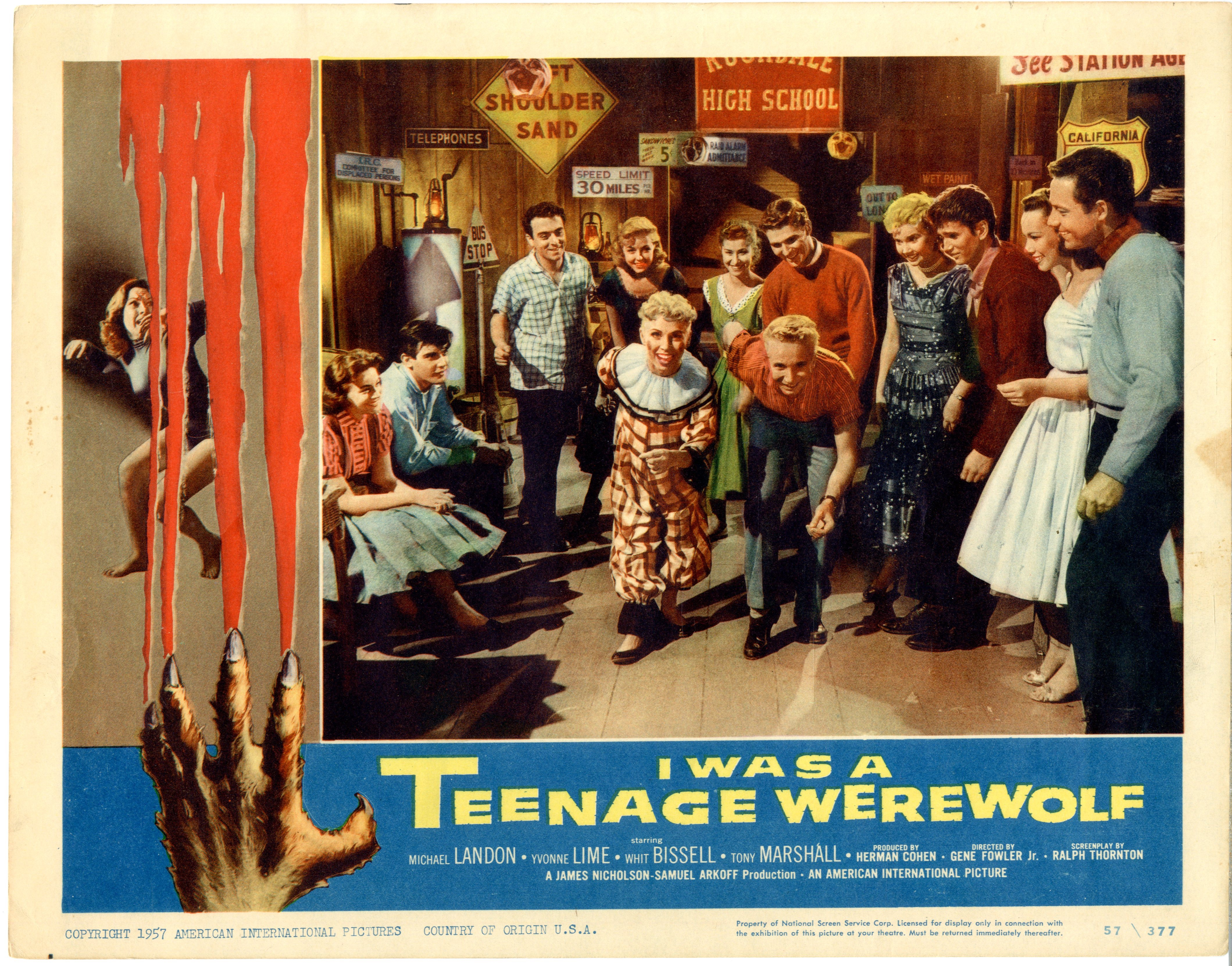 I Was A Teenage Werewolf   1957 - 22049