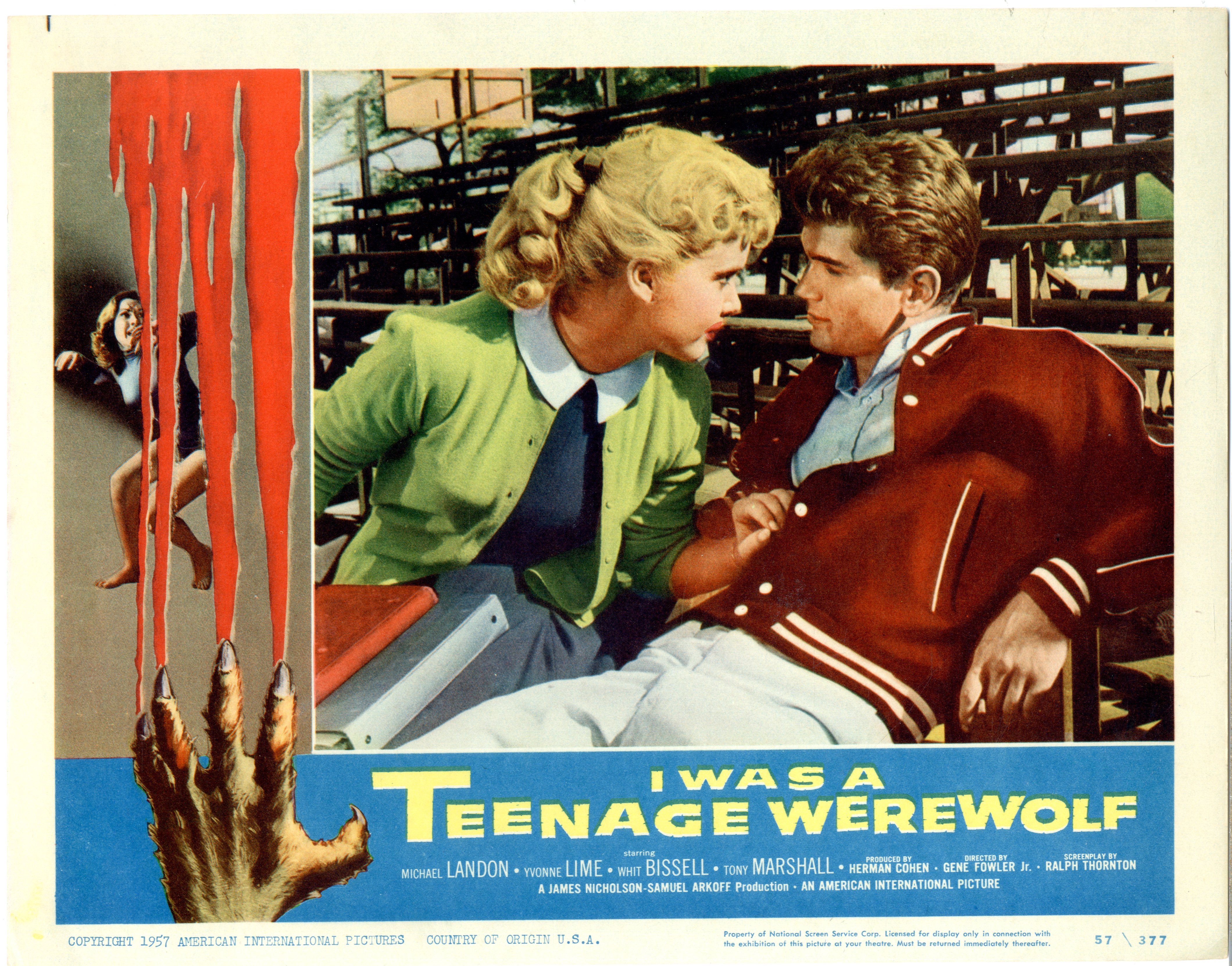 I Was A Teenage Werewolf   1957 - 22051