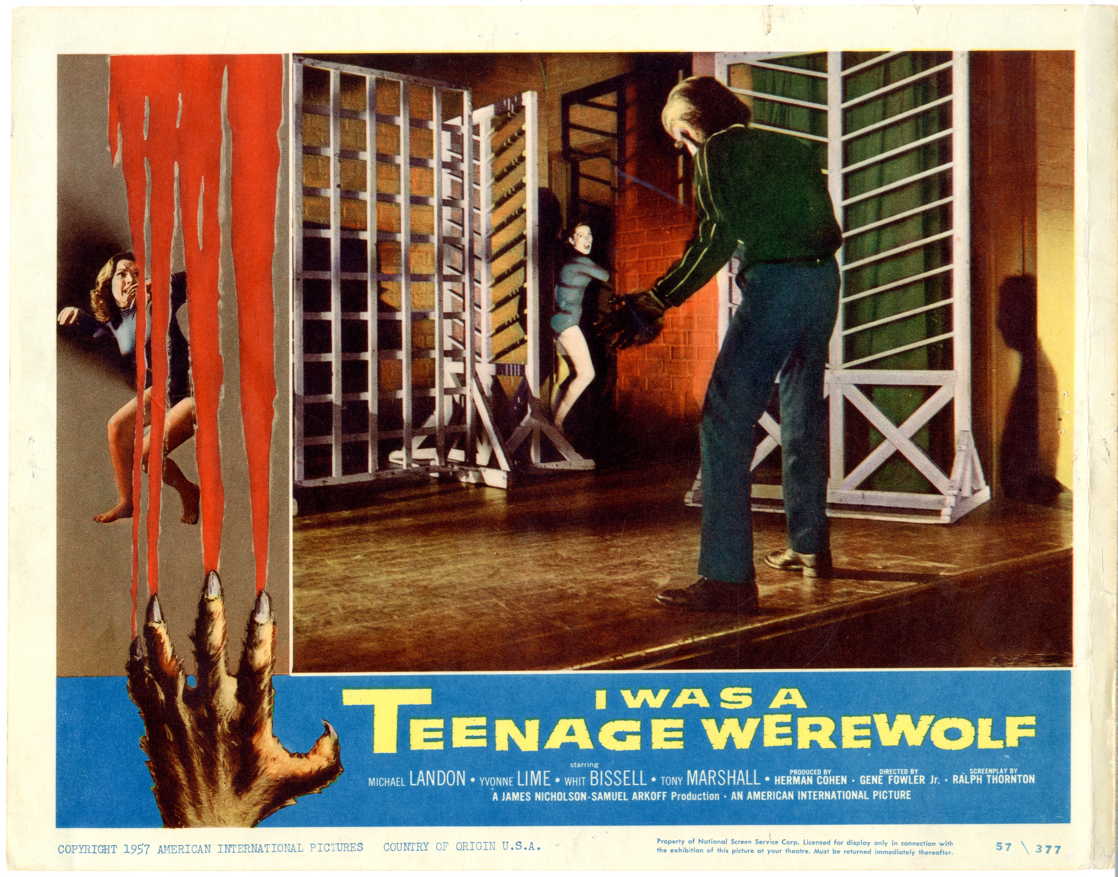 I Was A Teenage Werewolf   1957 - 22052