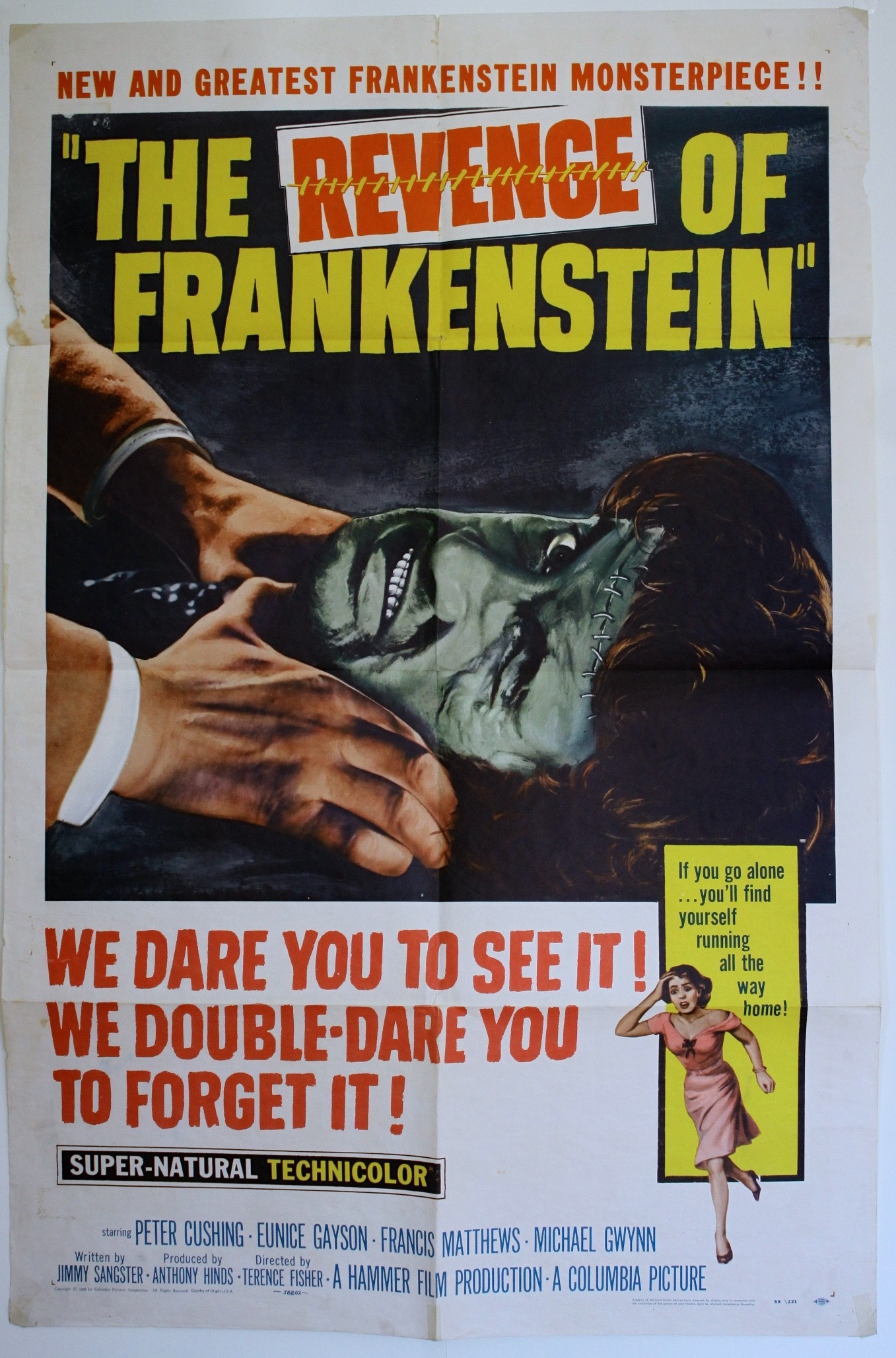 The Revenge Of Frankenstein   1958 - Primary